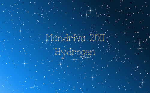 "MIB Mandriva/ROSA Desktop 2011 backgrounds ""Hydrogen"""