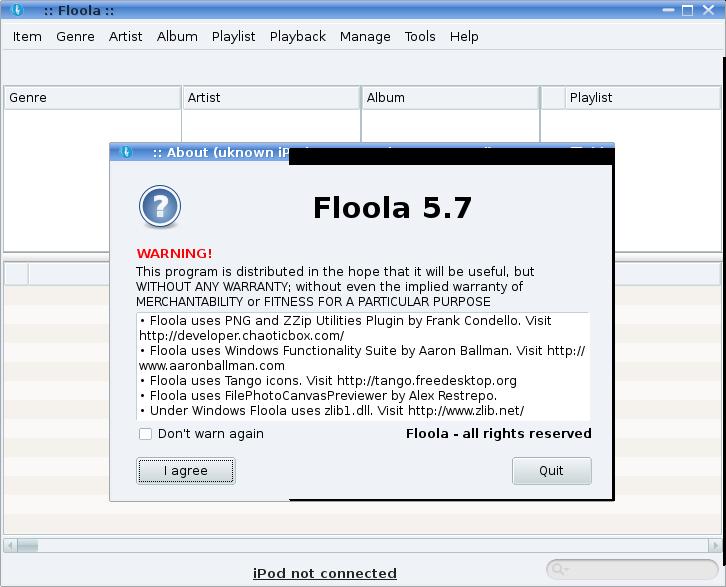 floola pour linux