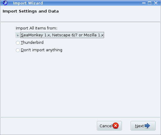 Import Setting & Data