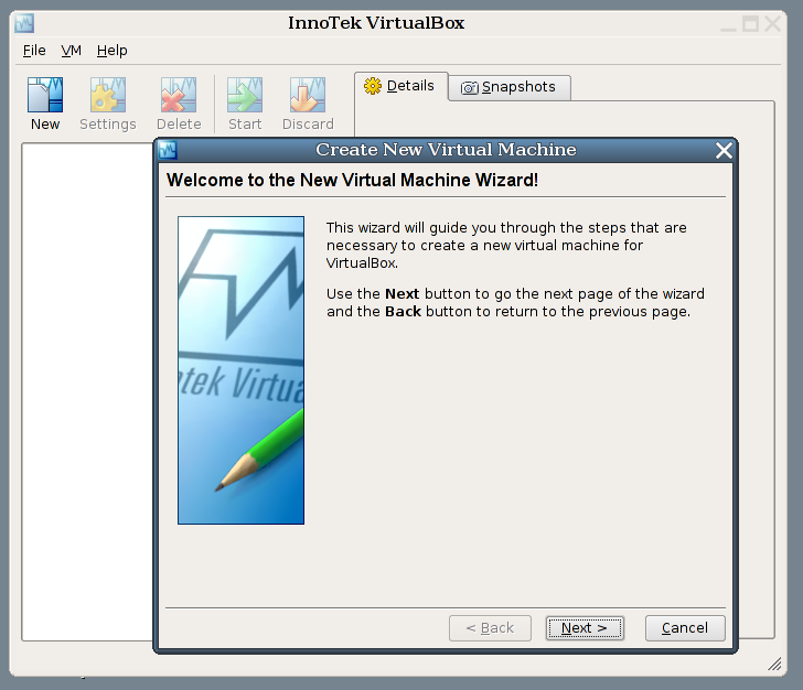 VirtualBox 3 1 8